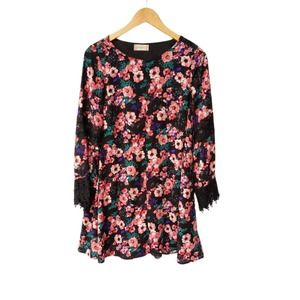 Altar'd State Womens Dress Tunic Floral Lace Small